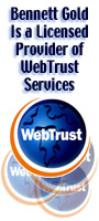 LINK TO: Bennett Gold Chartered Accountants: A Licensed Provider of WebTrust Services.